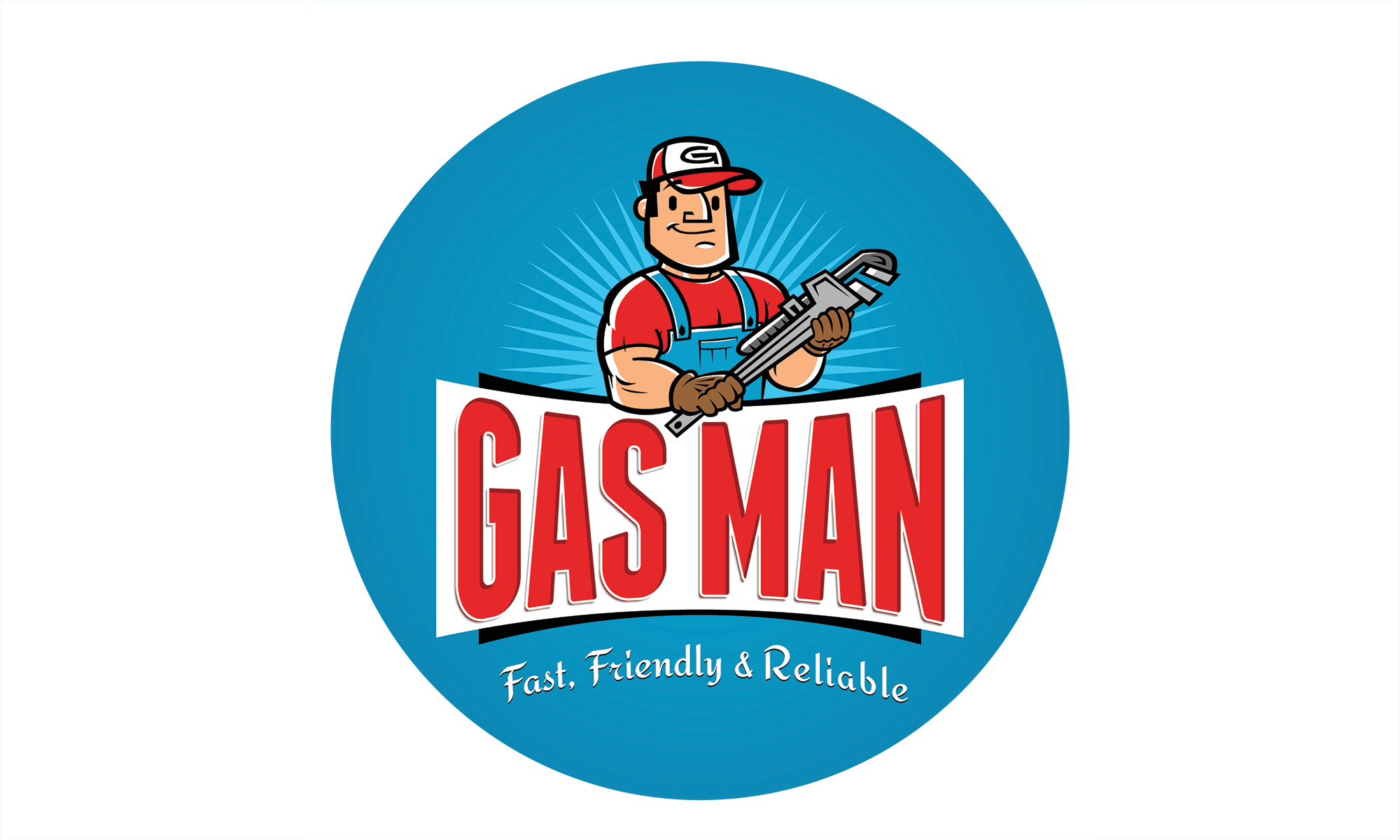 Gasman Logo Circle Small