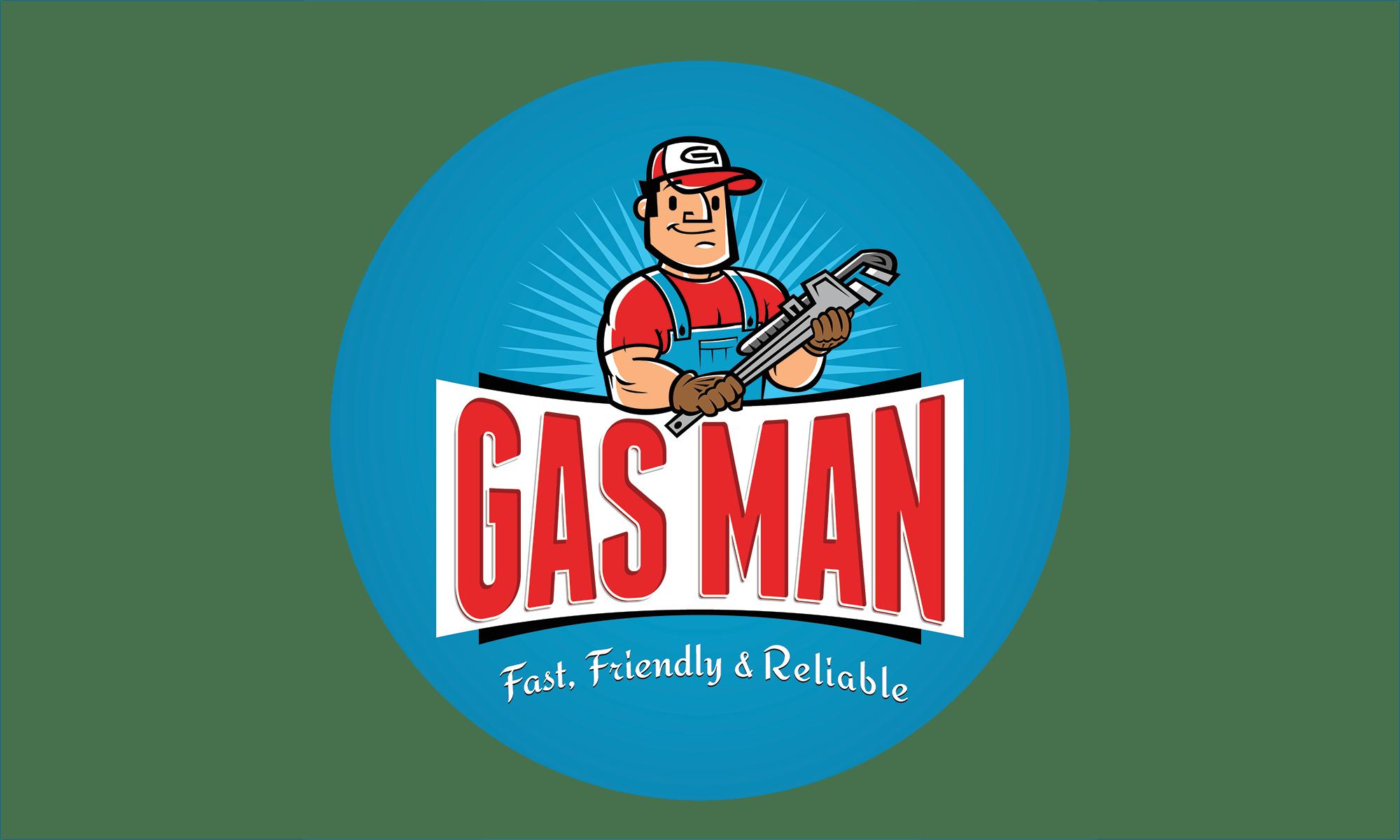 Gasman Logo Circle Small