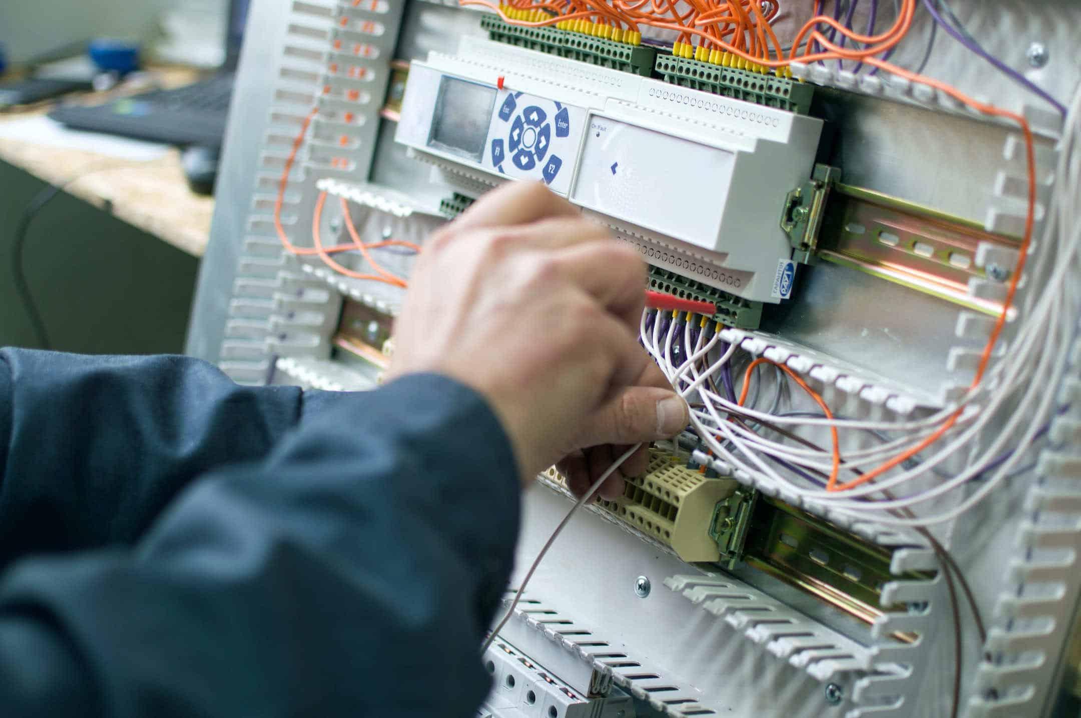 electronic repair on furnace