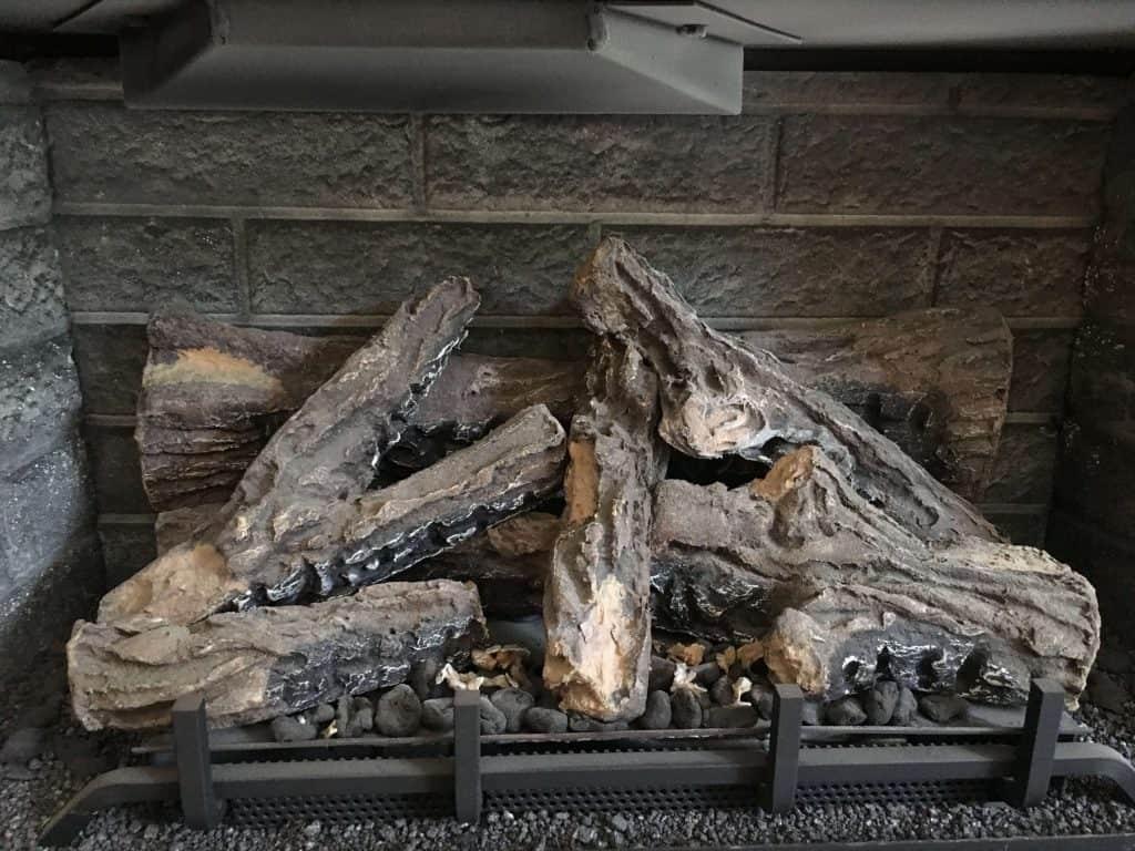 log set gas fireplace