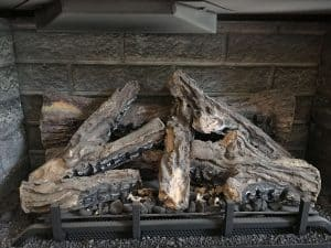 log set gas fireplace