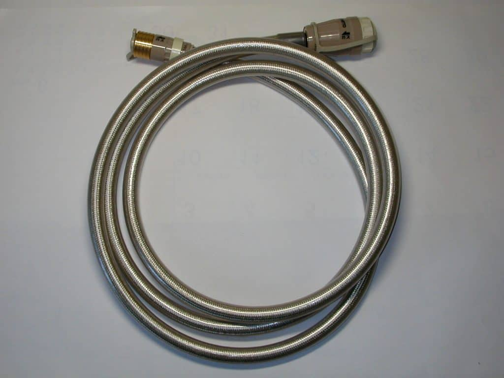 flexible natural gas hose for barbecue installation
