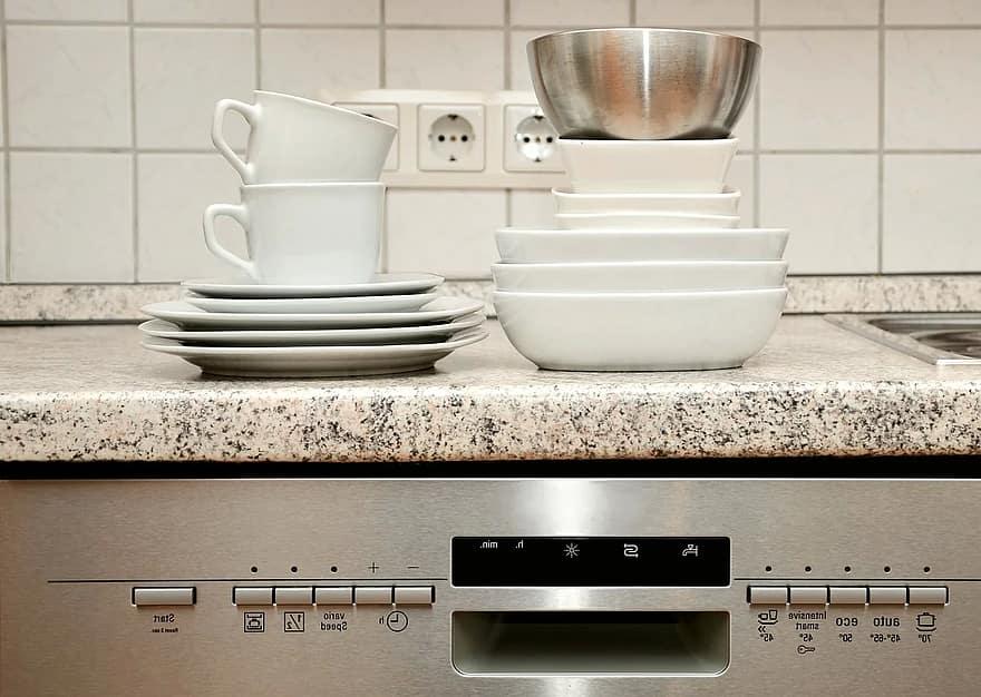 gas dishwasher insatllation
