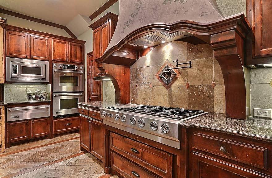 luxury kitchens gas installation